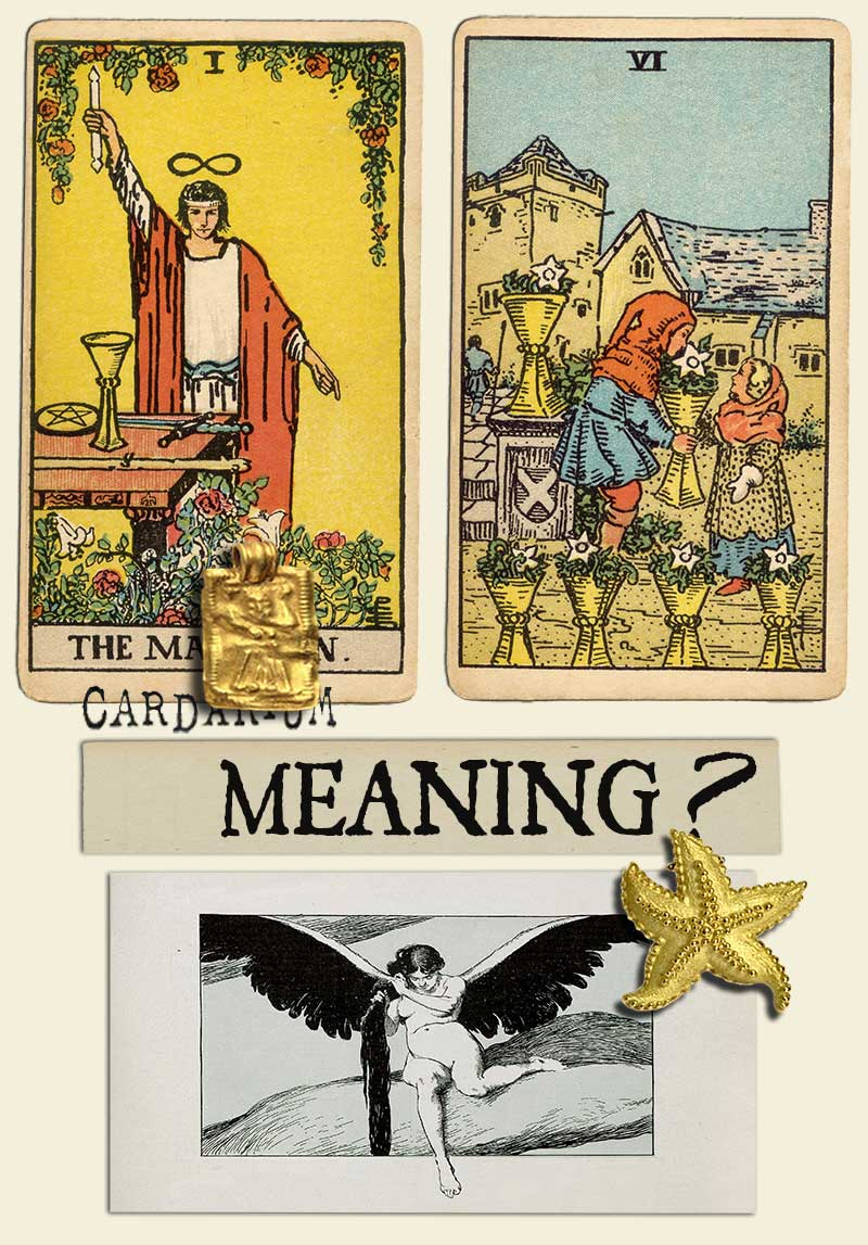 The Magician and Six Of Cups