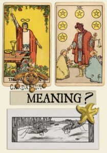 The Magician and Six Of Pentacles