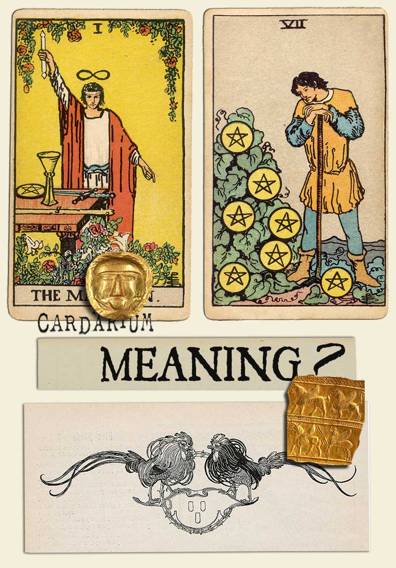 The Magician and Seven Of Pentacles
