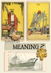 The Magician and Seven Of Swords