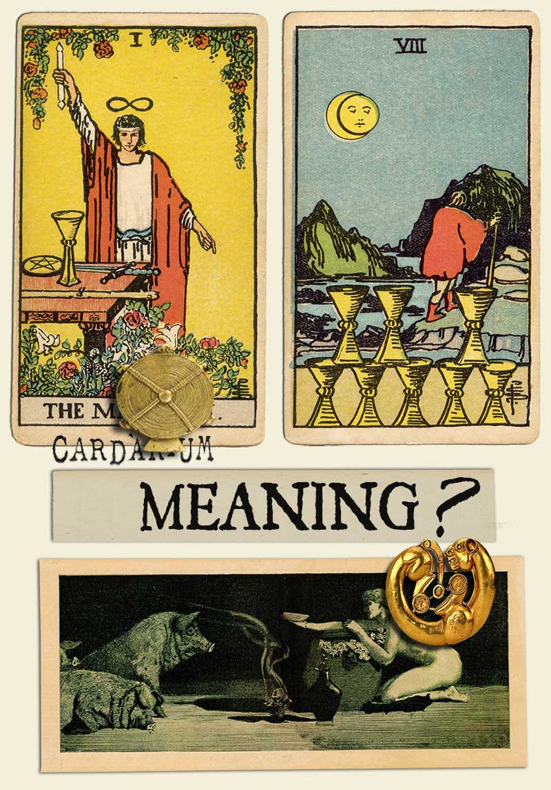 The Magician and Eight Of Cups
