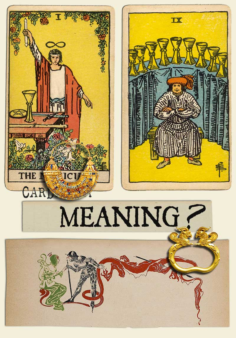 The Magician and Nine Of Cups