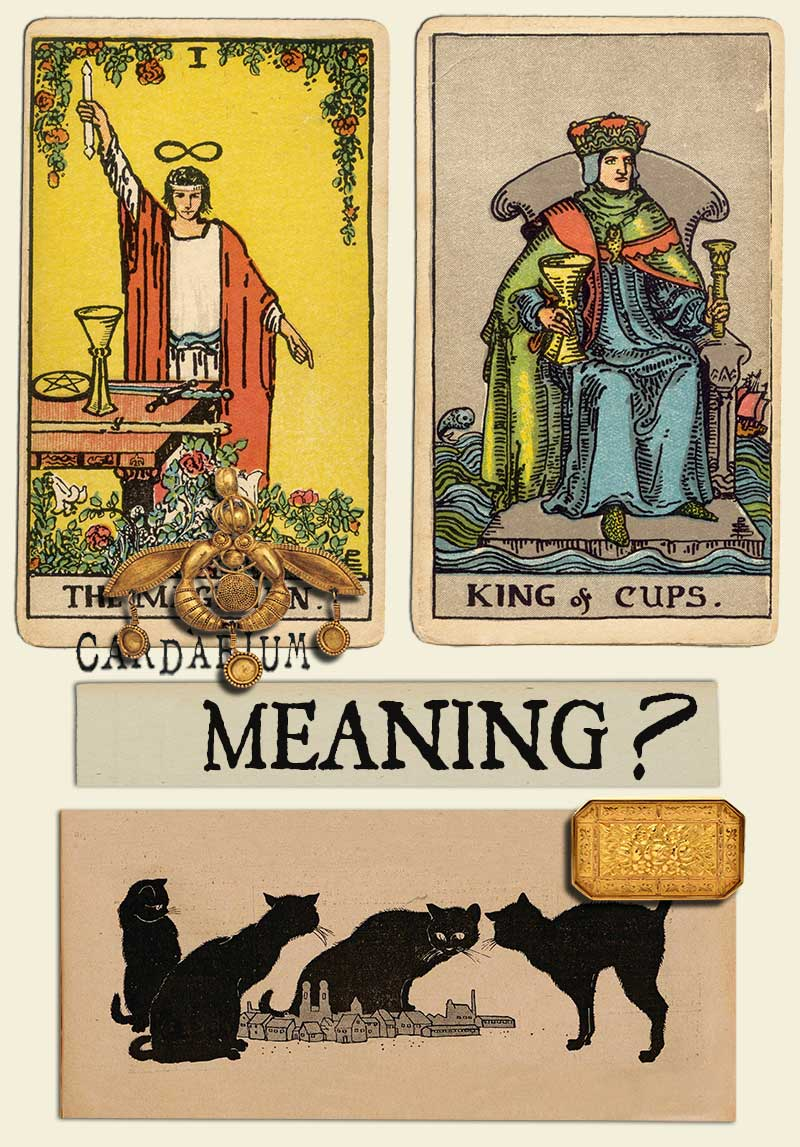 The Magician and King Of Cups
