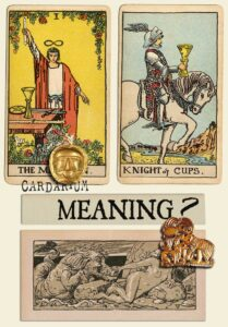 The Magician and Knight Of Cups