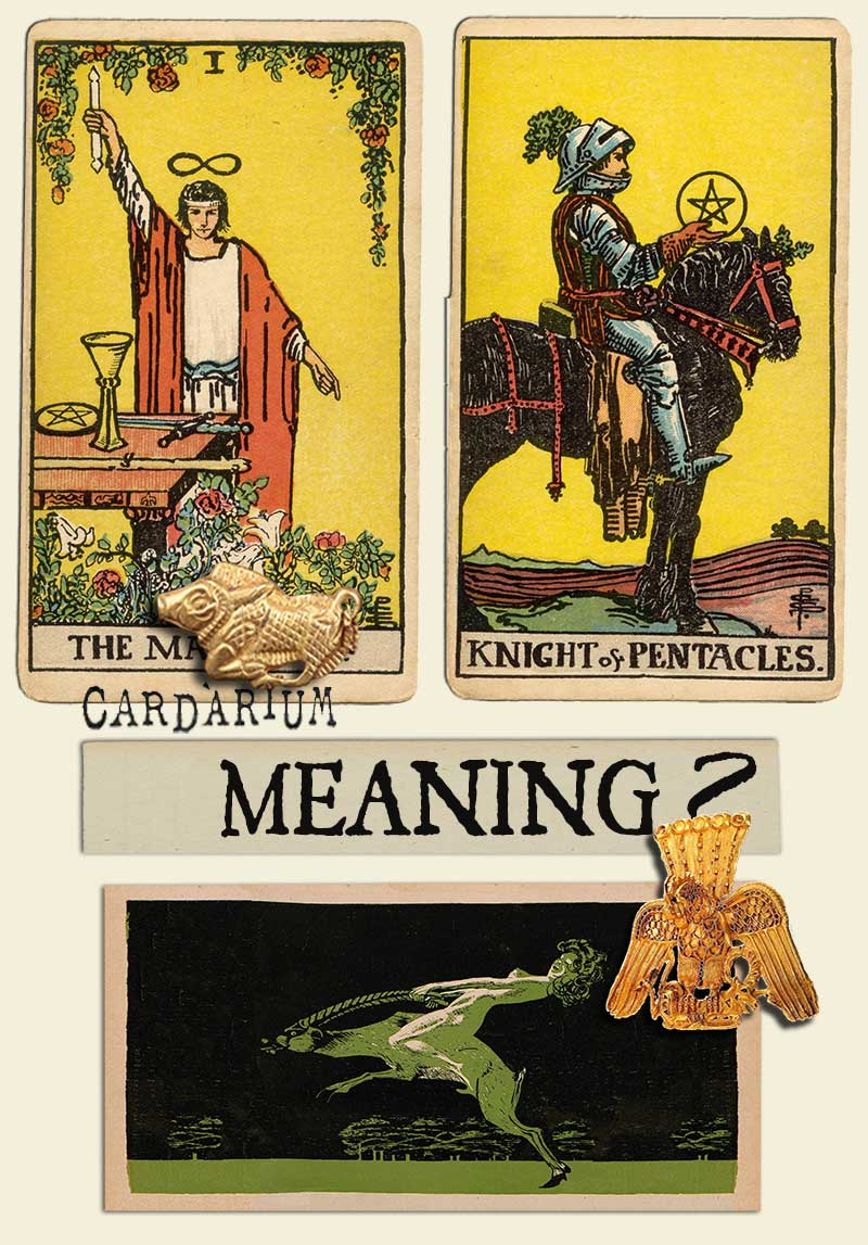 The Magician and Knight Of Pentacles