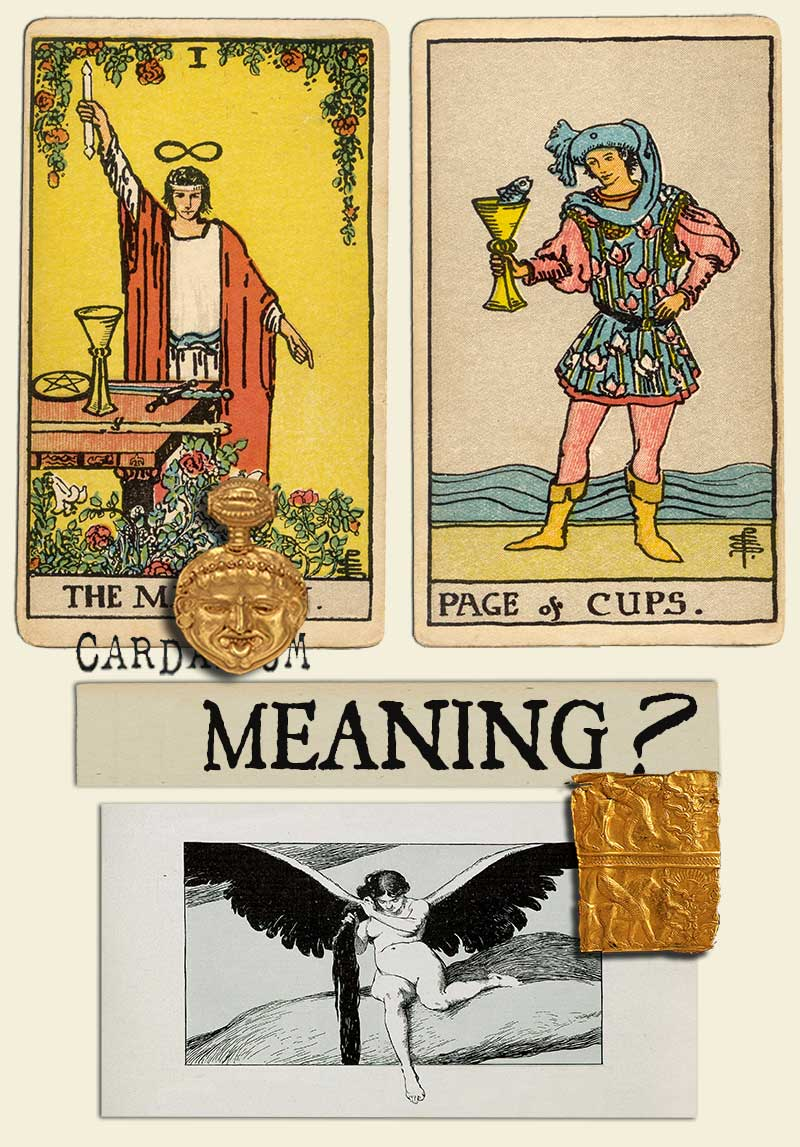 The Magician and Page Of Cups