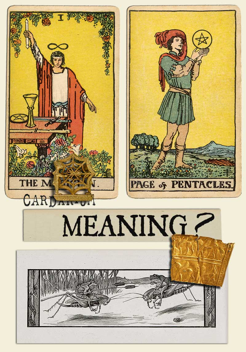 The Magician and Page Of Pentacles