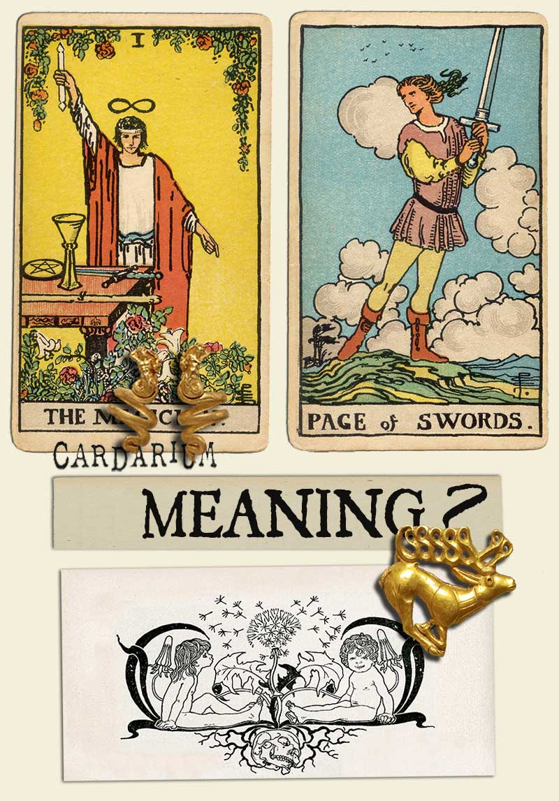 The Magician and Page Of Swords