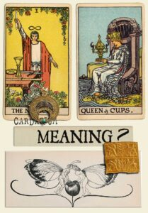 The Magician and Queen Of Cups