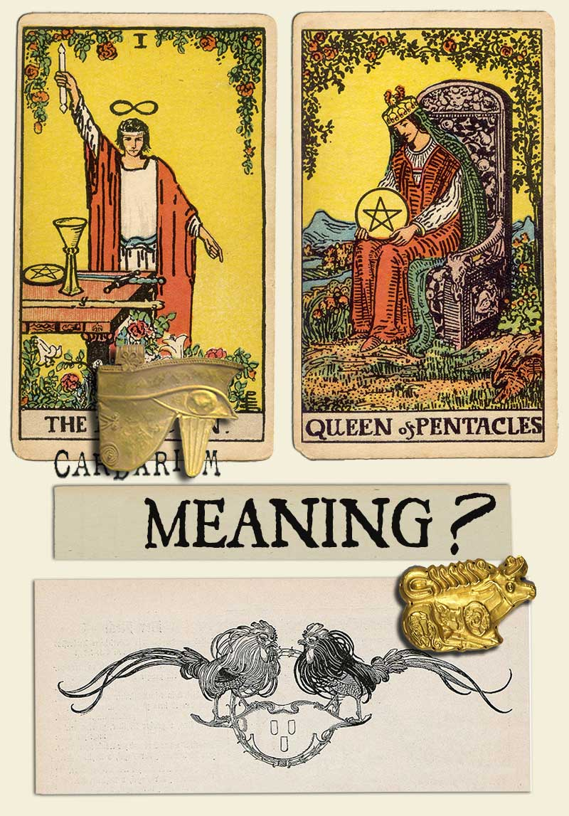 The Magician and Queen Of Pentacles