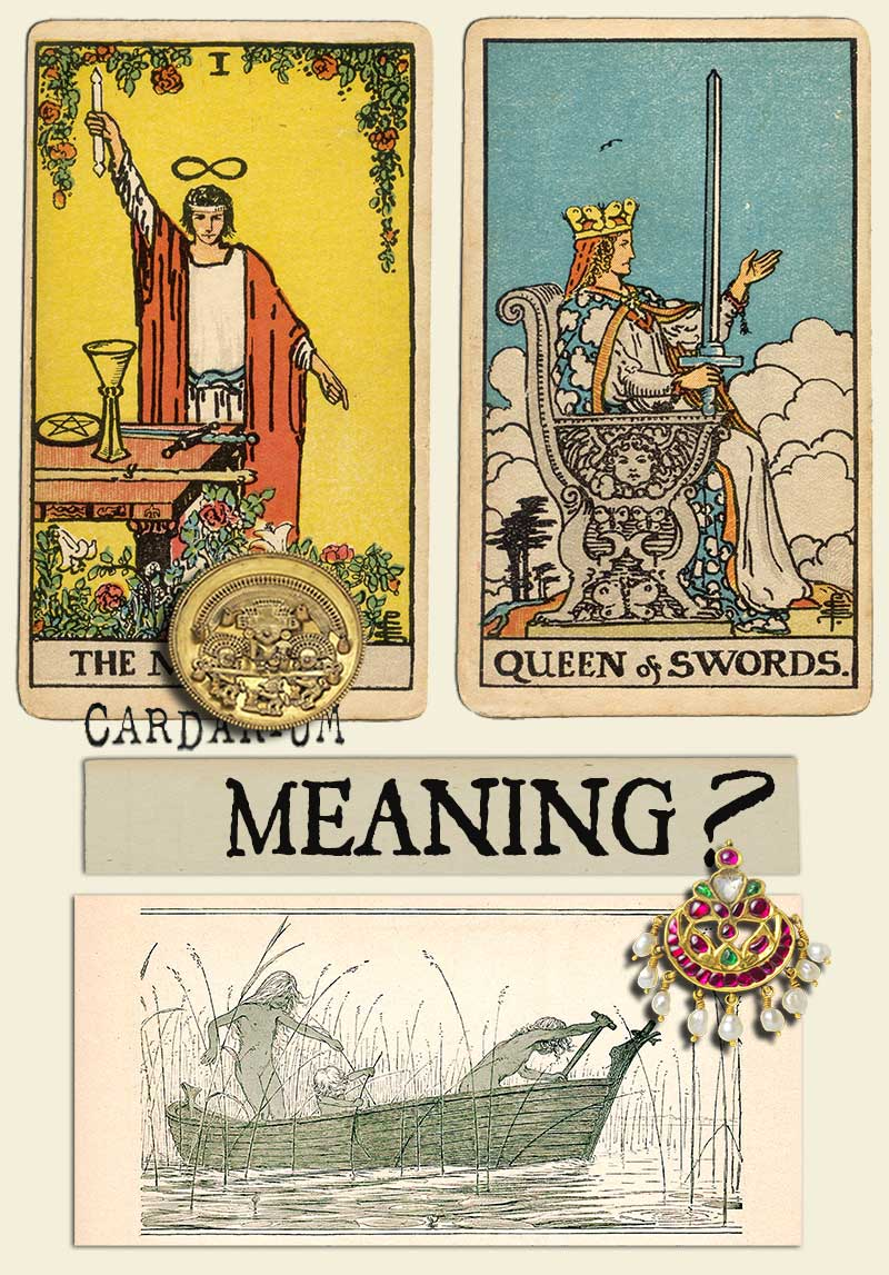 The Magician and Queen Of Swords