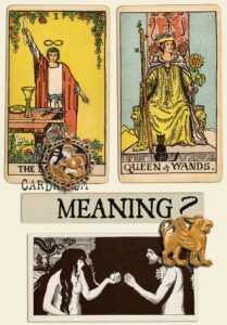 The Magician and Queen Of Wands
