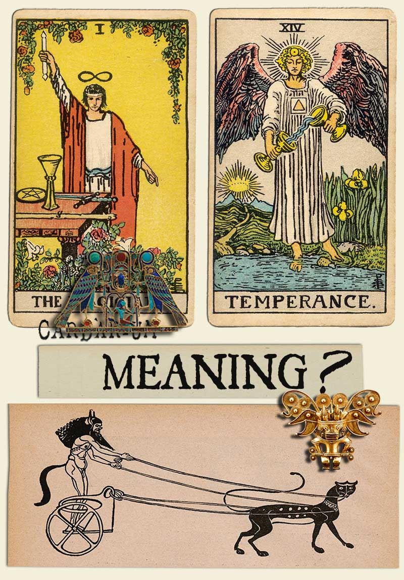 The Magician and Temperance