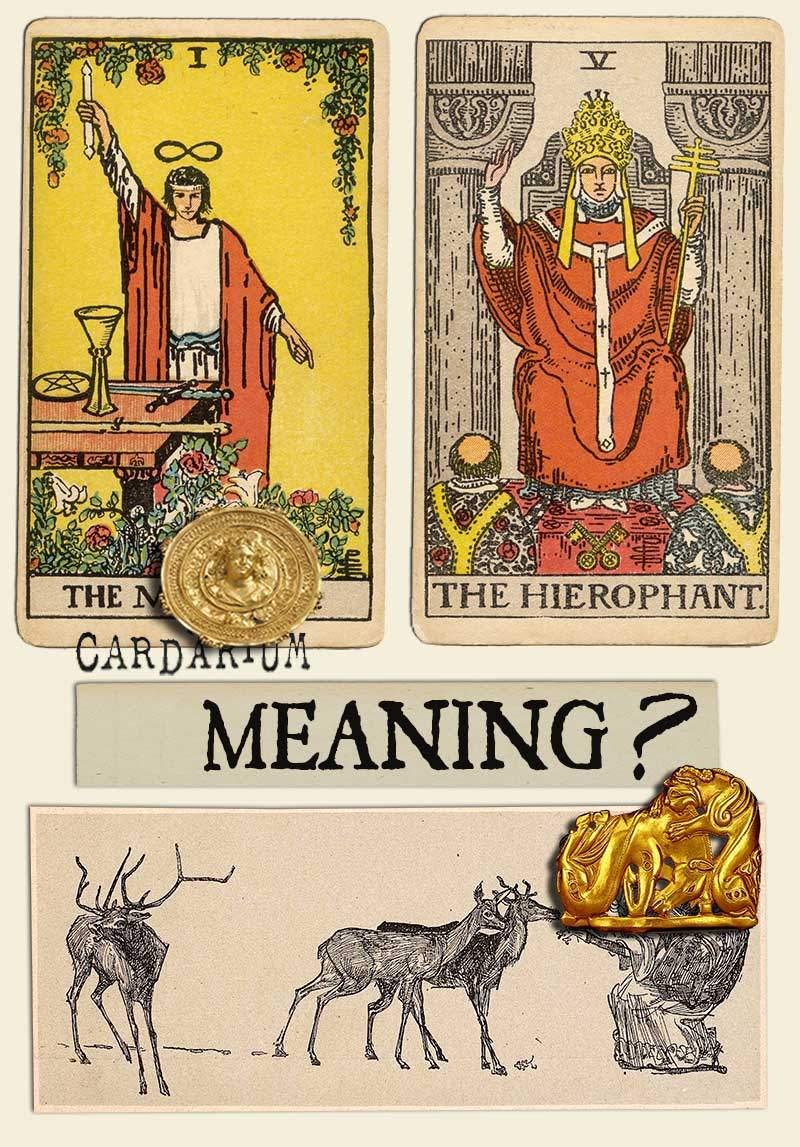 The Magician and The Hierophant