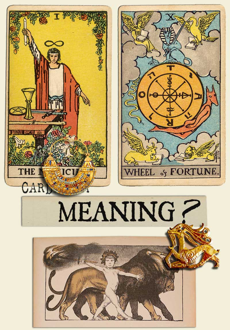 The Magician and Wheel of Fortune