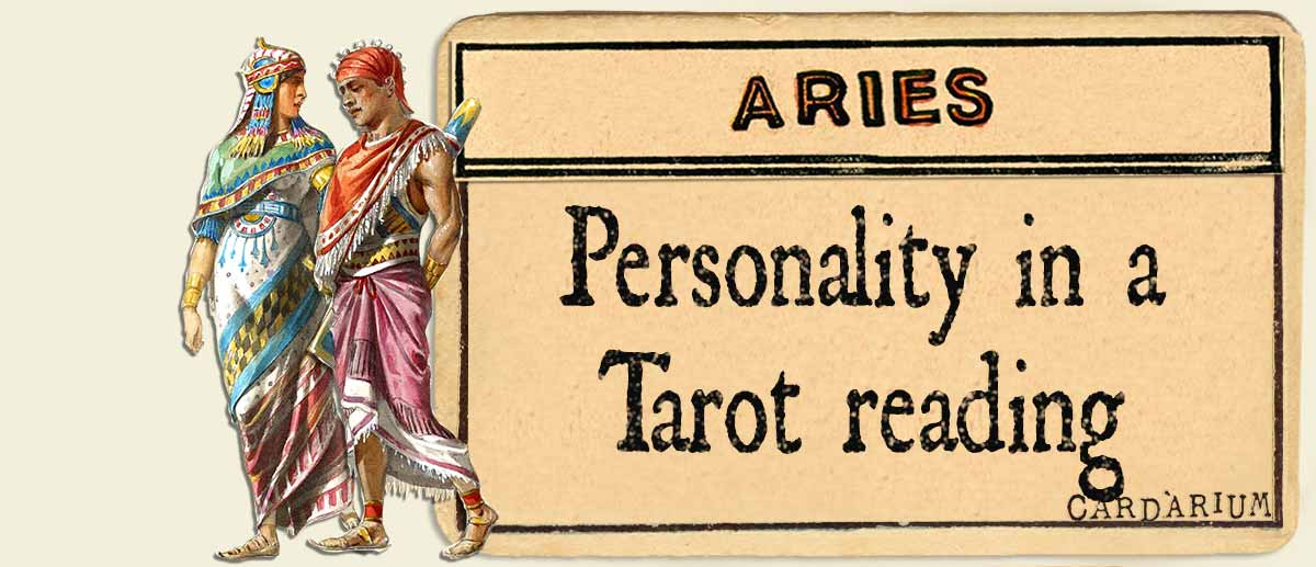 aries personality in a tarot reading