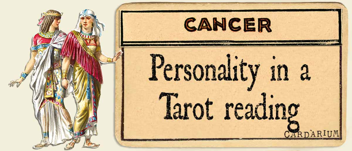 cancer personality in a tarot reading