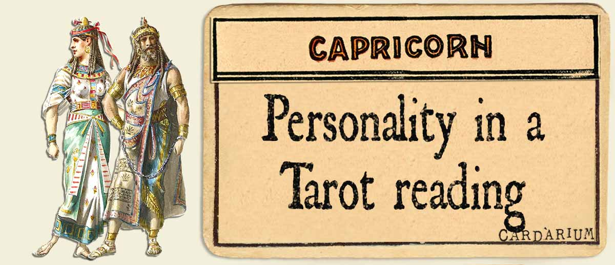 capricorn personality in a tarot reading