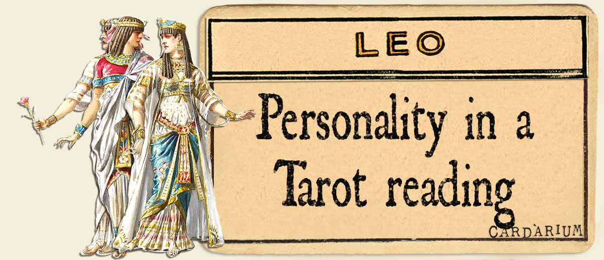 leo personality in a tarot reading