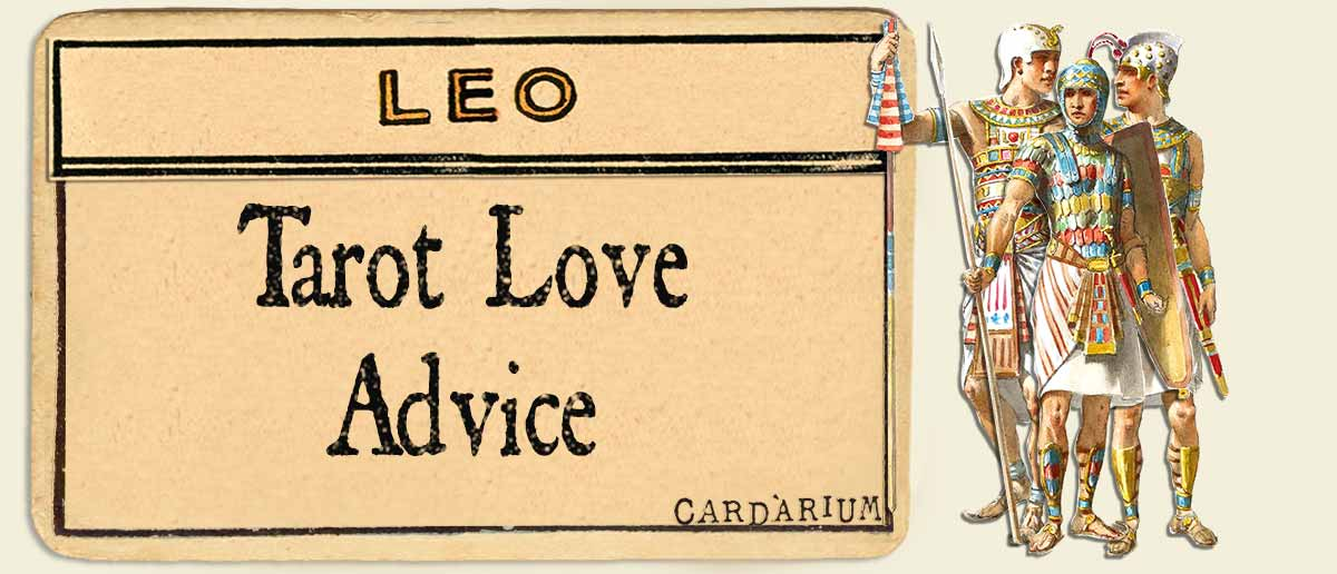 leo tarot advice