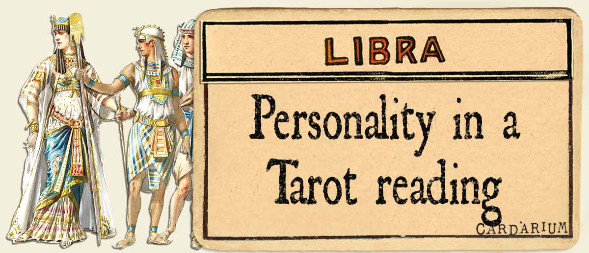 libra personality in a tarot reading