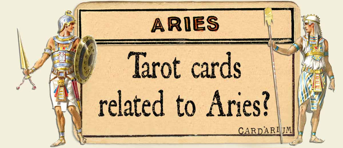 tarot cards related to aries