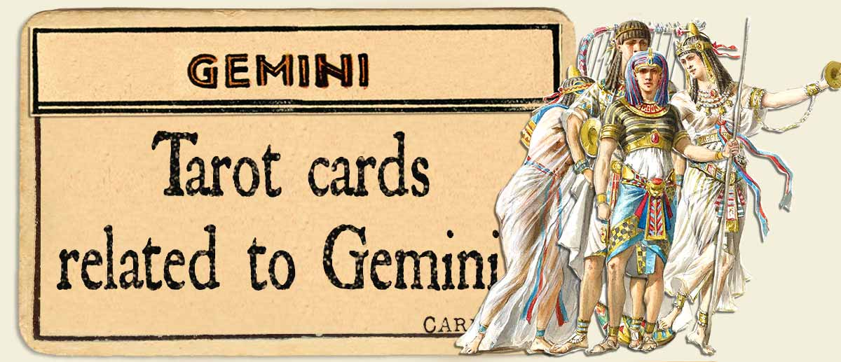 tarot cards related to gemini