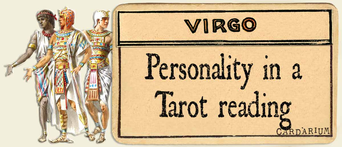 virgo personality in a tarot reading