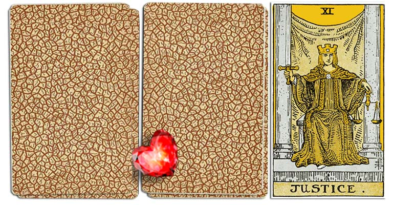 Justice meaning tarot