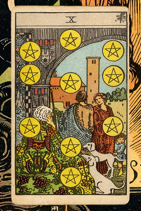 Main cover image 10 of Pentacles