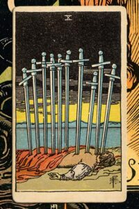 Read more about the article 10 of Swords: Detailed Meanings For Every Situation
