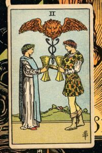 Read more about the article 2 of Cups: Detailed Meanings For Every Situation