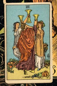 Read more about the article 3 of Cups: Detailed Meanings For Every Situation