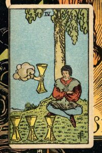 Read more about the article 4 of Cups: Detailed Meanings For Every Situation