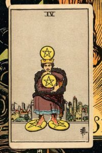Read more about the article 4 of Pentacles: Detailed Meanings For Every Situation