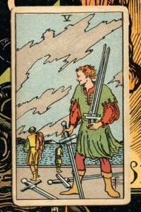 Read more about the article 5 of Swords: Detailed Meanings For Every Situation