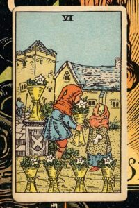 Read more about the article 6 of Cups: Detailed Meanings For Every Situation