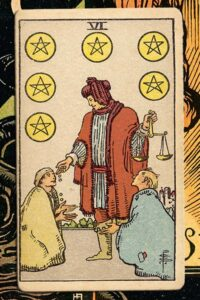 Read more about the article 6 of Pentacles: Detailed Meanings For Every Situation