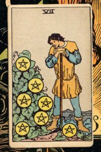 Read more about the article 7 of Pentacles: Detailed Meanings For Every Situation