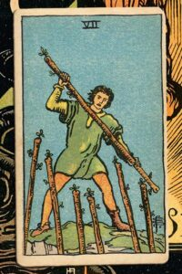 Read more about the article 7 of of Wands: Detailed Meanings For Every Situation