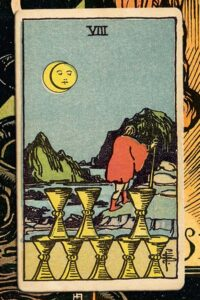 Read more about the article 8 of Cups: Detailed Meanings For Every Situation