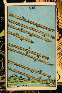 Read more about the article 8 of of Wands: Detailed Meanings For Every Situation