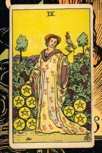 Read more about the article 9 of Pentacles: Detailed Meanings For Every Situation