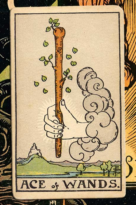 Main cover image Ace of Wands