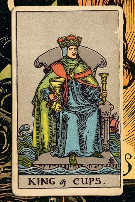 Main cover image King of cups