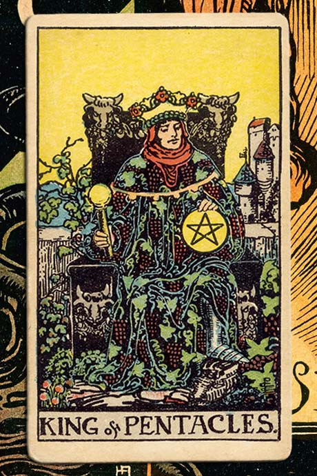 Main cover image King of Pentacles