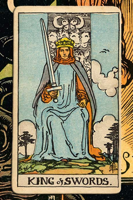 Main cover image King of Swords