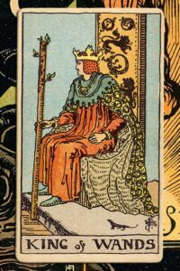 Read more about the article King of Wands: Detailed Meanings For Every Situation