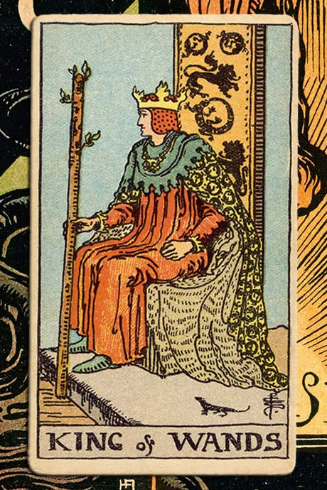 Main cover image King of Wands