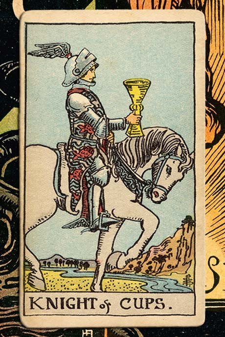 Main cover image Knight of cups